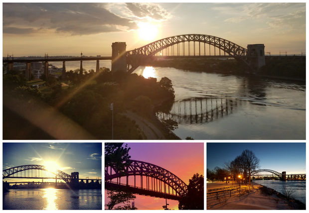 Some of the photos of the bridge submitted so far to the Hell Gate Centenary Committee's online contest.