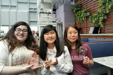 Team Fig (from left to right): Alyssa Kapasi, Emma Yang, and Ivy Mao.