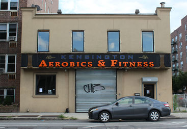 Kensington Aerobics and Fitness suddenly shuttered Monday after a city marshal slapped the Caton Avenue store front with an eviction notice.