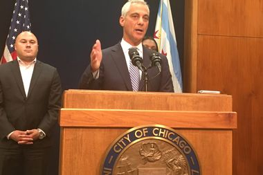Mayor Rahm Emanuel said a deal to fund Illinois schools is a