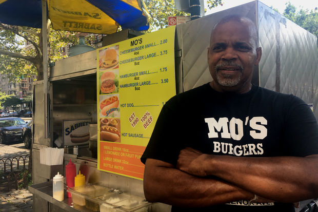 Mo's food cart on Lenox Avenue may be Harlem's best-kept secret.
