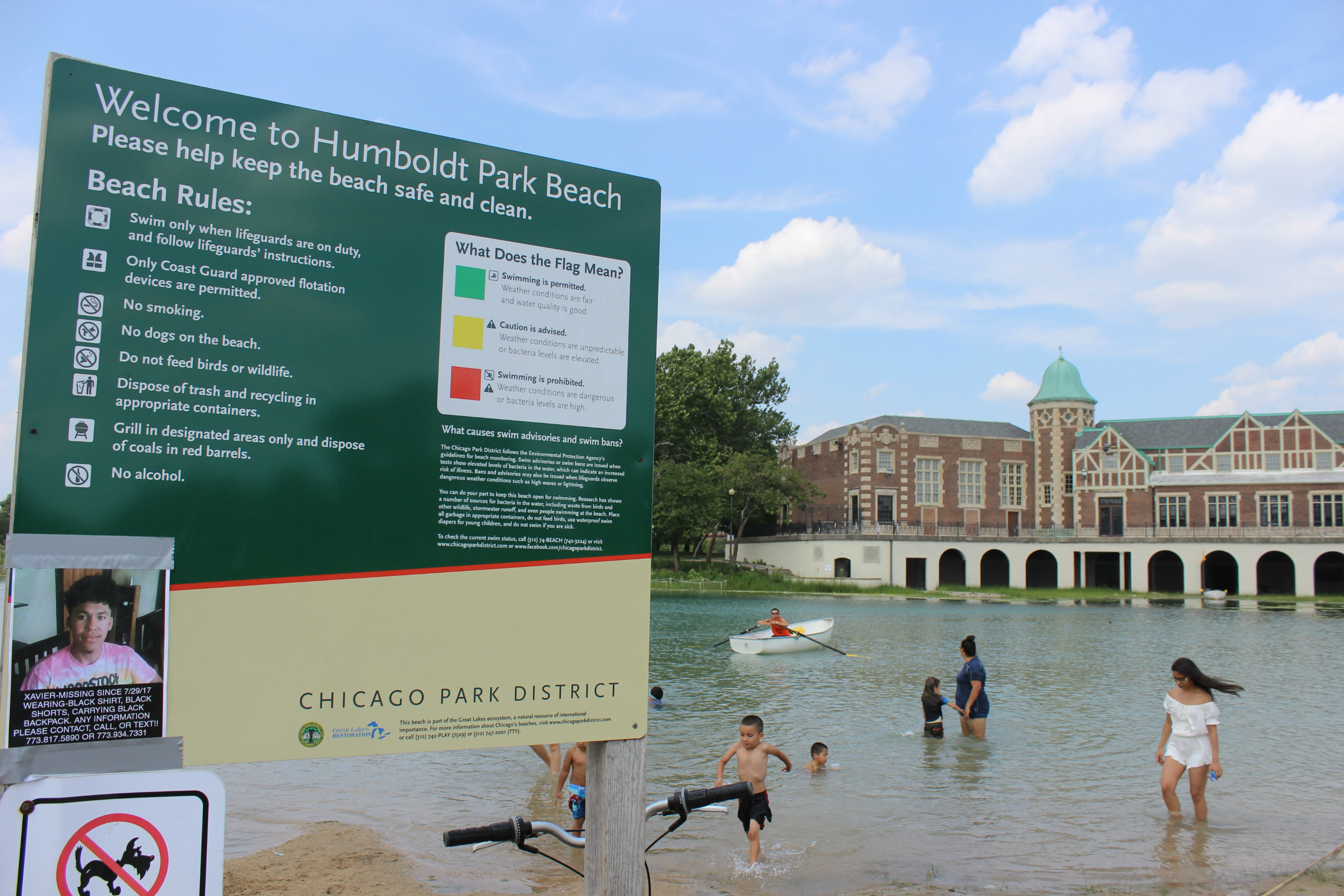 Check Out The Bacteria Levels At Your Favorite Beach - Humboldt Park