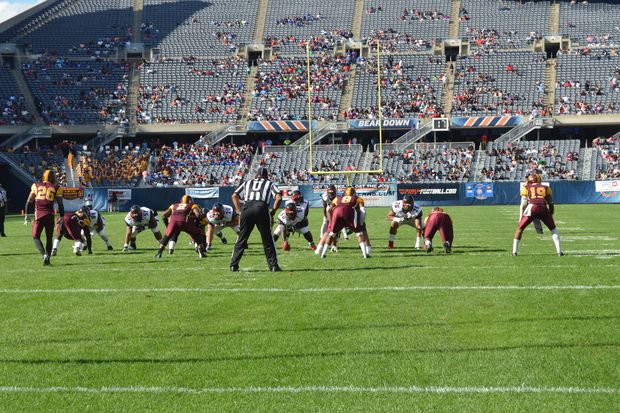 The football game is Sept. 30 at Soldier Field.