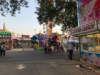 There's still three more days to check out the St. Hyacinth Basilica carnival.