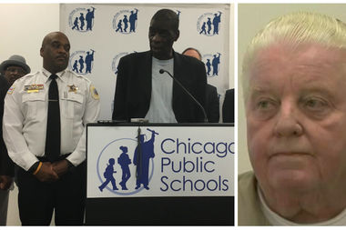 Darrell Cannon (left) was an abuse victim of former Chicago Police Cmdr. Jon Burge's notorious
