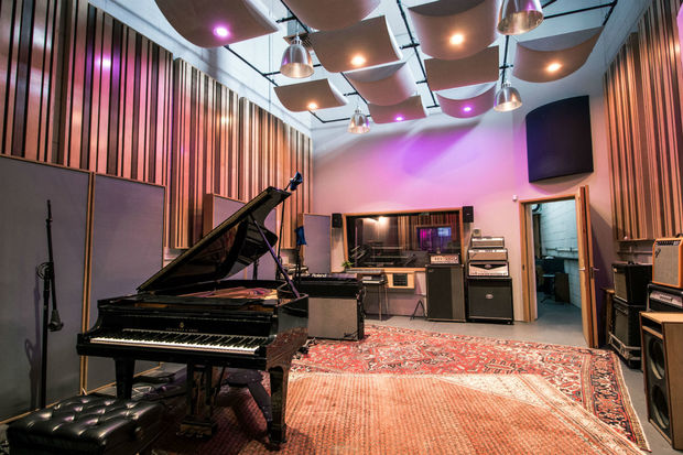 Douglass Recording was converted from a gritty garage into a state of the art recording studio.