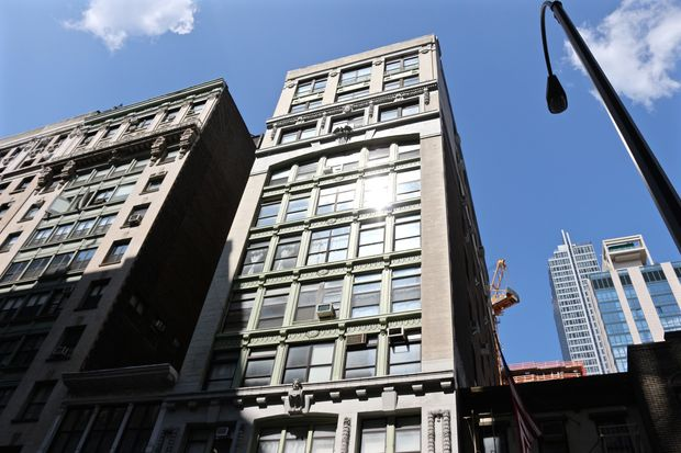 Icon Realty Management's building at 109 W. 27th St., between Sixth and Seventh avenues.