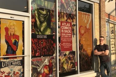 John Stangeland will open Atlas Comics, 5251 N. Harlem Ave., on Sept. 30, four years after closing his Norridge shop of the same name.