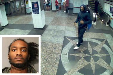 Kornell Strenger, 24, is charged with shooting another man at the Jackson Red Line stopAug. 17.