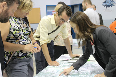 The city kicked off the years-long project with an open house Wednesday evening at Logandale Middle School, 3212 W. George St., to gather suggestions from the community, which officials say will be incorporated into the final plan.
