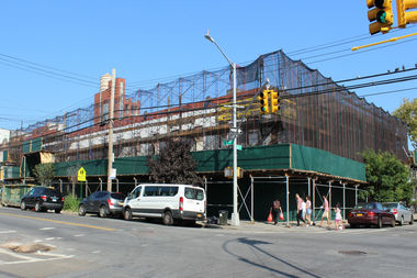 This former C Town in Sunset Park was set to become a 7-story building with condos, daycare, supermarket and more, but will instead become a 332-seat grade school.