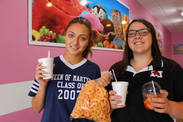 La Michoacana, The Green Party Inc. opened Tuesday at 3211 W. 111th St. in Mount Greenwood. The shop specializes in Mexican desserts but its eclectic menu also features items like hot dogs, tamales, Cheetos covered in cheese and more.