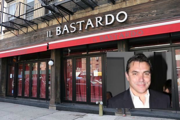 Chef Todd English wants to open a food hall in former Il Bastardo space, at 191 Seventh Ave., between West 21st and 22nd streets.