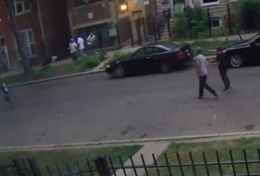 A neighbor's surveillance video captured the murder of 18-year-old Adrian Lopez in Humboldt Park on Aug. 26.
