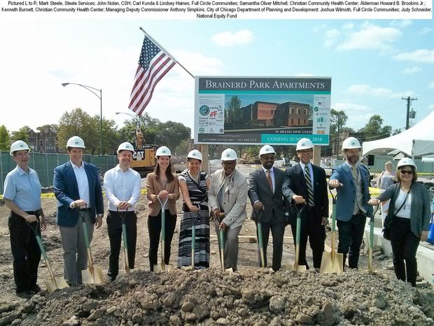 Brainerd Park Apartments Groundbreaking