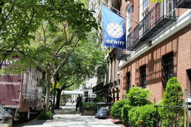 The Hewitt School.