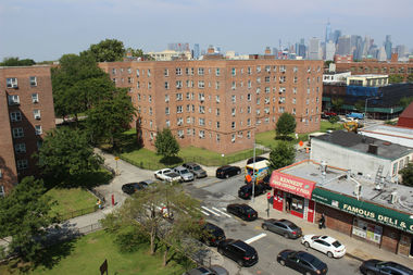 NYCHA has begun $63 million worth of roof repairs to all 28 buildings in the Red Hook Houses development.