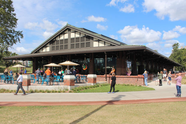 Theater on the Lake has reopened with a bar, restaurant and patio after a $7 million renovation.