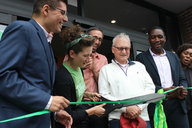 Co-op members, benefactors and public officials convened Friday morning for a ribbon-cutting ceremony.