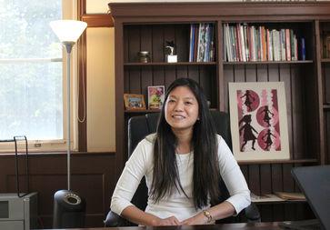 Armour Elementary Principal Katherine Chuu.