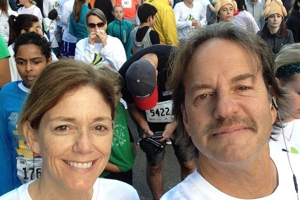 KHITS DJ and Lakeview resident Dave Fogel ran in Sunday's SEA Blue Prostate Cancer Run, and he spoke from the stage about his own experience with prostate cancer.