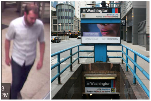 This man allegedly pushed a stranger onto the CTA tracks.