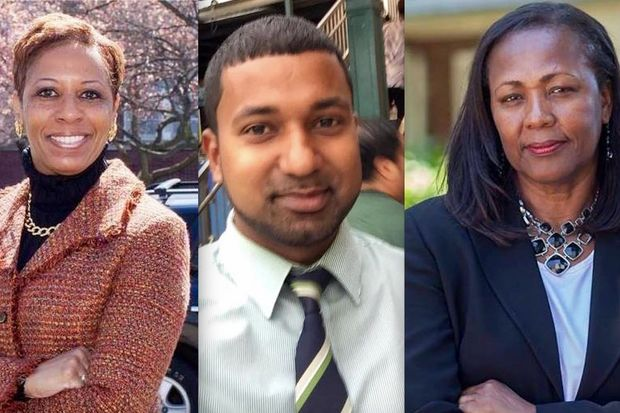 Adrienne Adams, Richard David and Hettie Powell are running to succeed former City Councilman Ruben Wills who was expelled from office in August following his corruption trial.