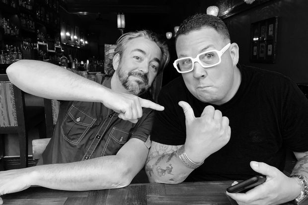 Celebrity chefs Graham Elliot (right) and Matthias Merges will open Gideon Sweet together in the former Graham Elliot Bistro.
