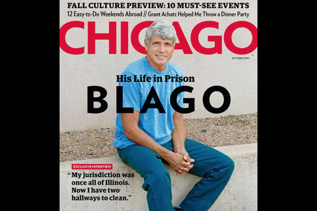Chicago magazine is touting an exclusive