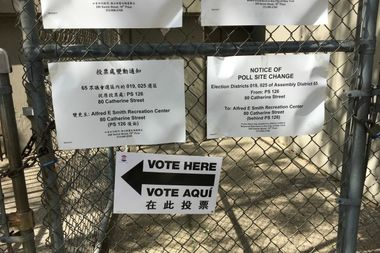 Voters dealt with problems and confusion at several polling sites around the city.