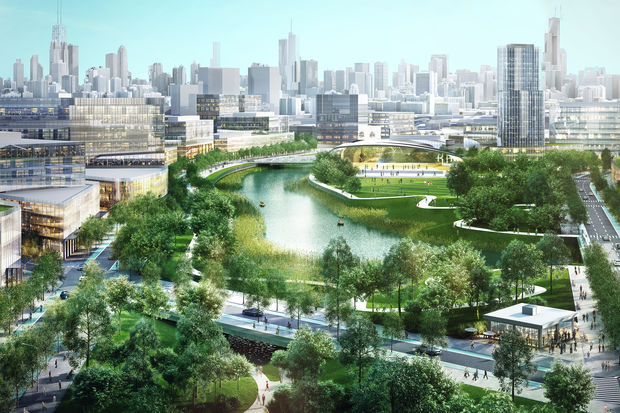 The former Finkl Steel site would be transformed as Lincoln Yards.