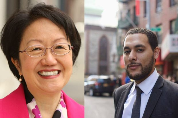 Councilwoman Margaret Chin is currently leading the race for District 1 by only 200 votes.