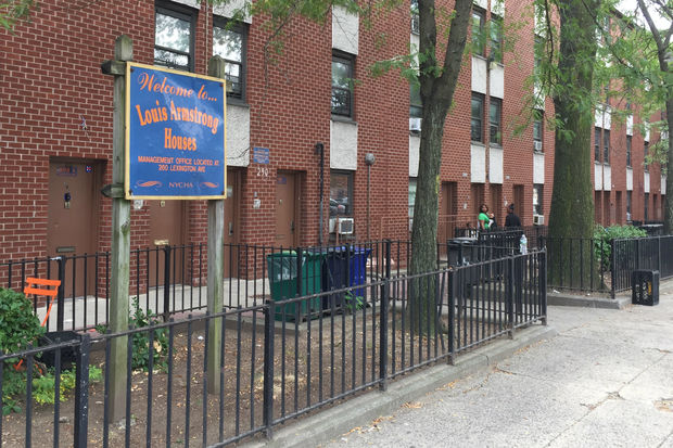 A 20-year-old man was shot outside 296 Lexington Ave. between Marcy and Nostrand avenues Wednesday afternoon, according to police.