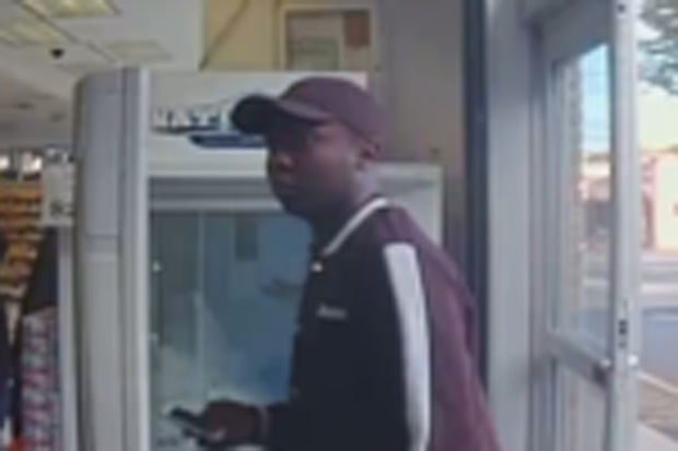 Police are looking for two men (including the one pictured above) who stole more than $3,000 worth of cold medicine from a Richmond Road Duane Reade in Staten Island on Sept. 3.