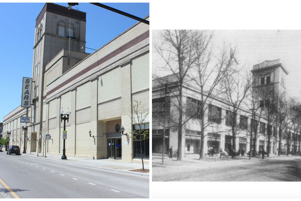 Sears' darkened windows are about to see the light of day. Why were they covered in the first place?