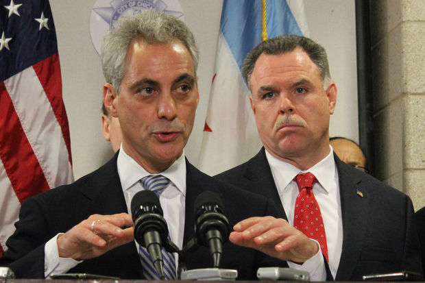 Mayor Rahm Emanuel could face the police superintendent he fired, Garry McCarthy, in Chicago's mayor's race.