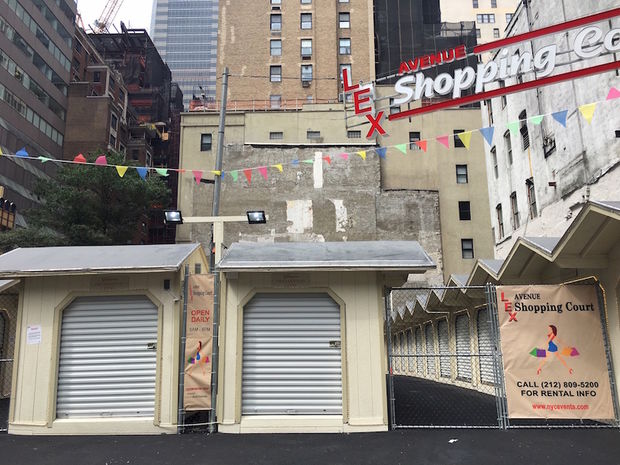 Vendors and shoppers were ordered to vacate the Lexington Avenue Shopping Court after officials discovered fire hazards on site.