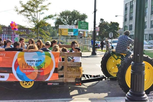 Thought you couldn't get a fall hayride in the city? In Rogers Park, you can.