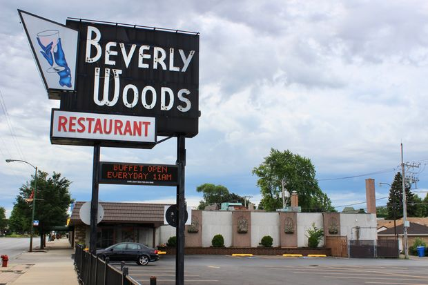 The Beverly Woods Restaurant and Banquets closed Sunday. The owner said it was impossible to market the property without turning off customers.