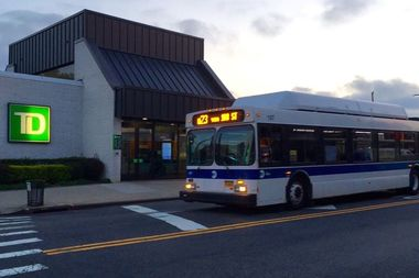 The city changed the Q23 bus route along Metropolitan Avenue in Forest Hills last month.