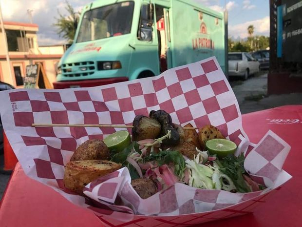La Patrona is one of six food trucks lined up for the public event Thursday.