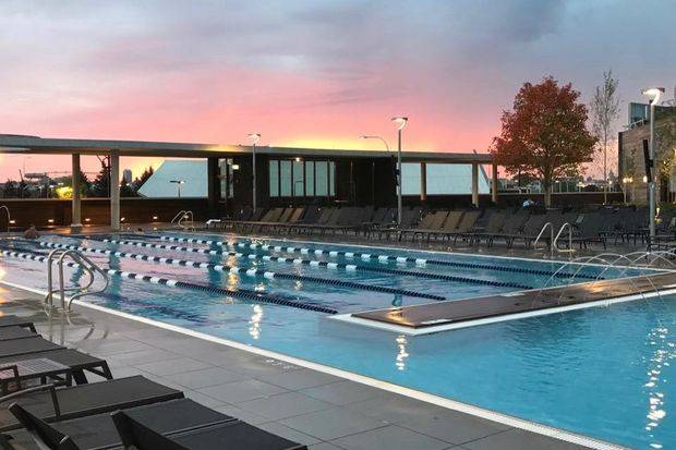Chromium, the restaurant for Midtown Athletic Club members and guests of The Hotel at Midtown, has opened, along with the outdoor pool.