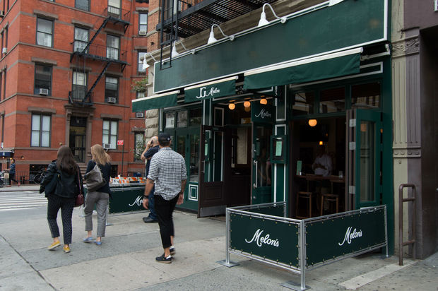 J.G. Melon opens on the Upper West Side.