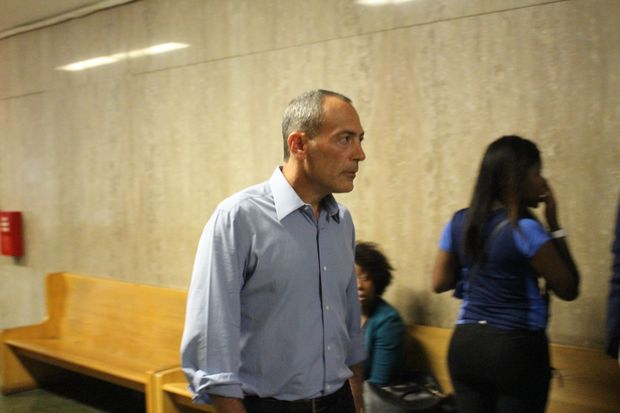 Steve Croman showed up to his scheduled sentencing Sept. 19 at Manhattan Criminal Court, but a judge agreed to put it off until Oct. 3.