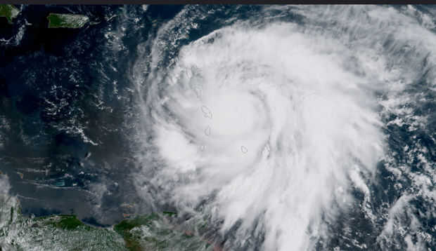 According to CNN, Maria is the strongesthurricane on recordto hit the Dominica, destroying everything in its path with 160 mph winds. Now the hurricane is headed directly toward Puerto Rico and the Virgin Islands.