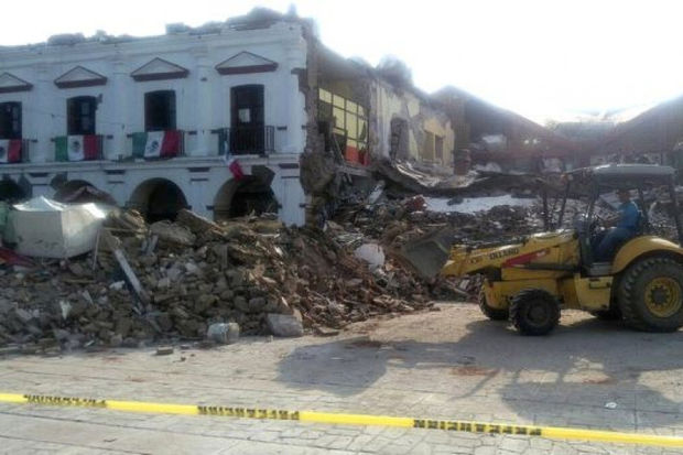 The founder of Chicago's Calles y Sueños organization is launching earthquake recovery efforts in Mexico, and friends of the Pilsen-based group are trying to raise money to help him.