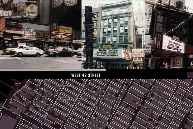 Interactive Map Of New York City.Stroll Through Gritty 80s Nyc With This Interactive Map Midtown