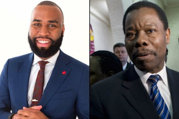 Brian Cunningham, left, is running as a third party candidate for the 40th Council District seat currently held by Councilman Mathieu Eugene, right.