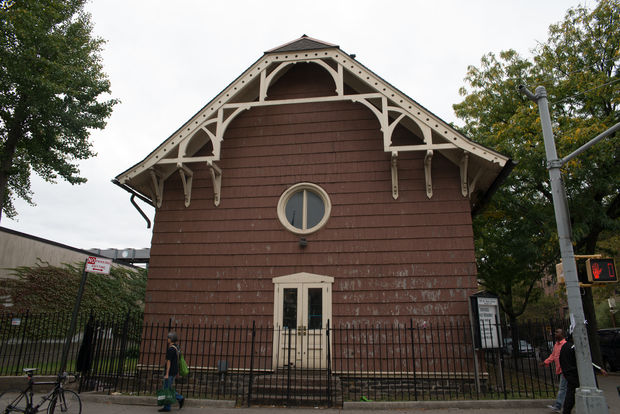 The church was built in the 1700s and was spared by British soldiers during the Revolutionary War.