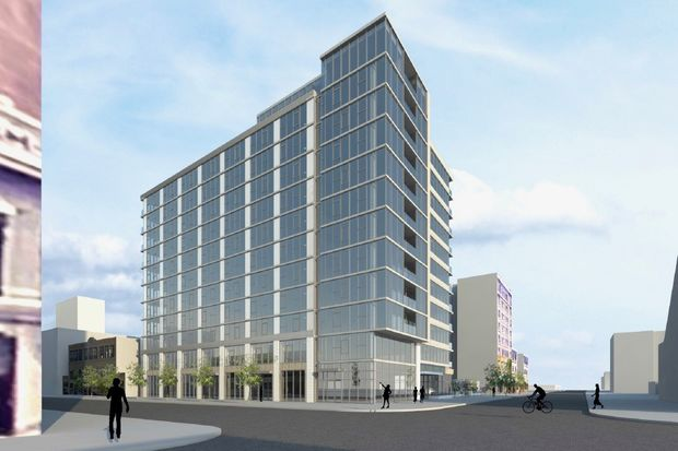 New renderings of the development at 975 W. Wilson Ave., which will have 140 to 155 units.